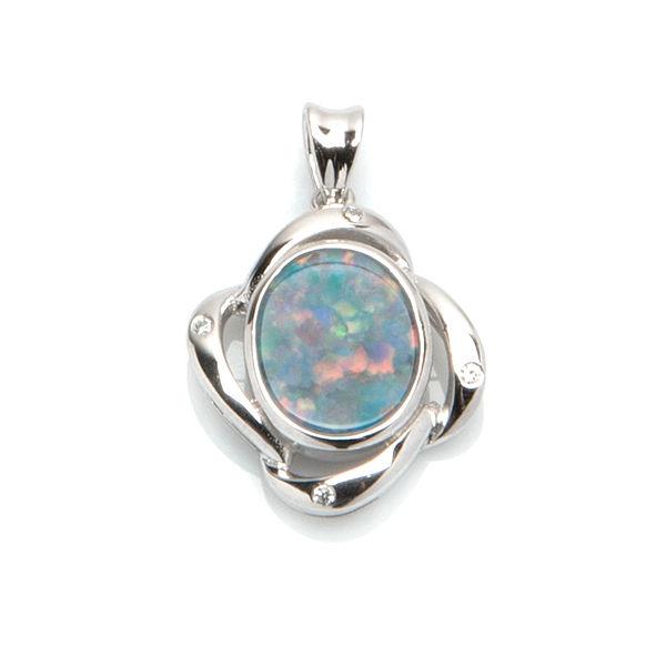 Pd,opale,bleue,OP20116A