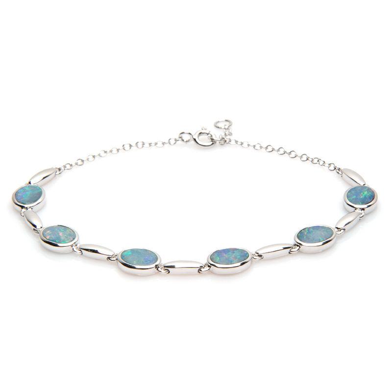 les ventes chaudes c0cf6 fd58a Bijoux pierre bleue - Opale bleue - Bijoux Passion