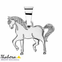 Pendentif cheval argent 925, 2.20x2cm