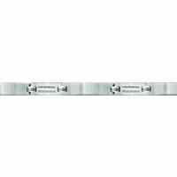Gourmette 7mm câbles & acier ajustable à 18.5 ou 19.5cm