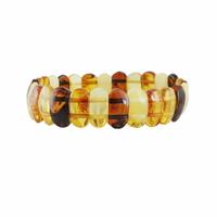 """Bracelet ambre multi qualité """"extra"""", largeur 2.5cm"""