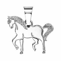 Pendentif cheval argent 925, 2.20 x 2cm