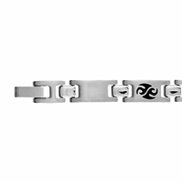 Bracelet Tribal, 7mm, Junior - 14 ou 16cm, acier