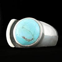 Bague turquoise & argent 925, T. 53, Photo contractuelle