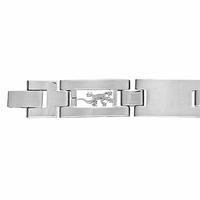 Bracelet Salamandres, 1.1cm de large, long. 18.5 ou 20.5cm