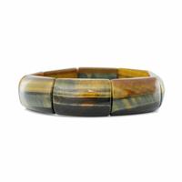"""Bracelet Oeil de faucon qualité """"extra"""", largeur 1.5cm"""