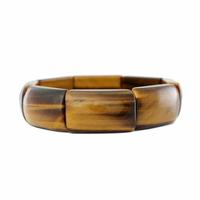 """Bracelet Oeil de tigre qualité """"extra"""", largeur 1.6cm"""
