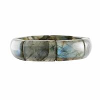 """Bracelet Labradorite, pierres qualité """"extra"""", largeur 1.5cm"""