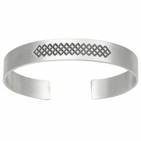 bracelet jonc argent vieilli, large (1.1cm), épais, massif (24g), tous poignets jusque 19.5cm