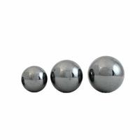 Boucles hématite 4, 6 ou 8mm & argent 925, puces au choix