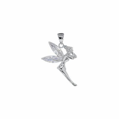 pendentif fée ailes transparentes argent 316379-L-1000p