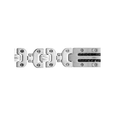 bracelet-acier-carbone-noir-plaque-120129-T