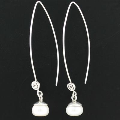 Véritables perles d'eau douce