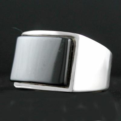 chevalière pierre onyx
