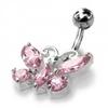 FR-piercing-nombril-argent-tige-acier-papillon-50004-T