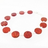 Bracelet corail gorgone & argent 925