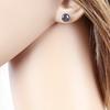 puces perles noires 8mm