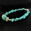 Bracelet turquoise & argent 925, long. 18.5cm