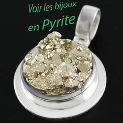 magnifiques bijoux en pyrite