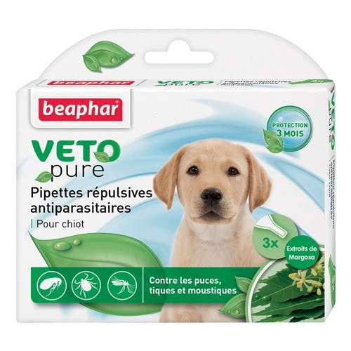 pipettes-repulsives-anti-parasitaires-beaphar-chiot