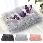Longue-peluche-chien-lit-animal-de-compagnie-coussin-couverture-doux-polaire-chat-coussin-chiot-Chihuahua-canap