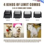 Tondeuse-pour-animaux-de-compagnie-faible-bruit-Kit-de-tondeuses-pour-chiens-et-chats-Rechargeable-par