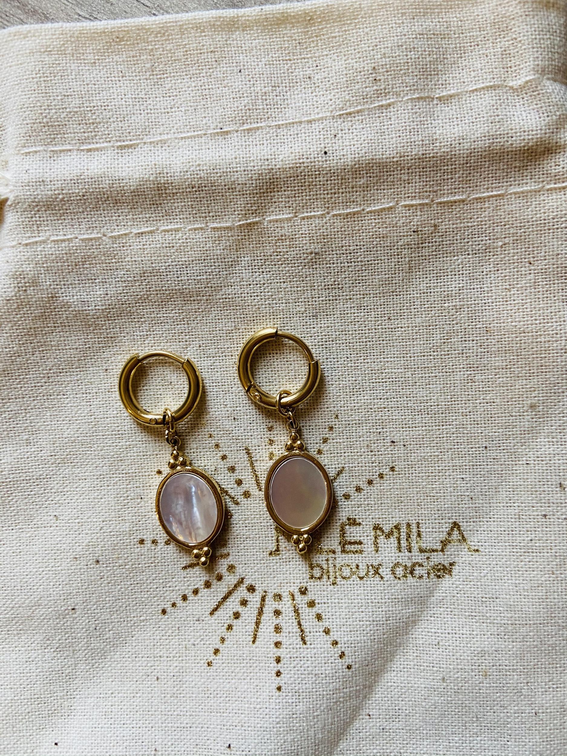 Mini créoles Lolita