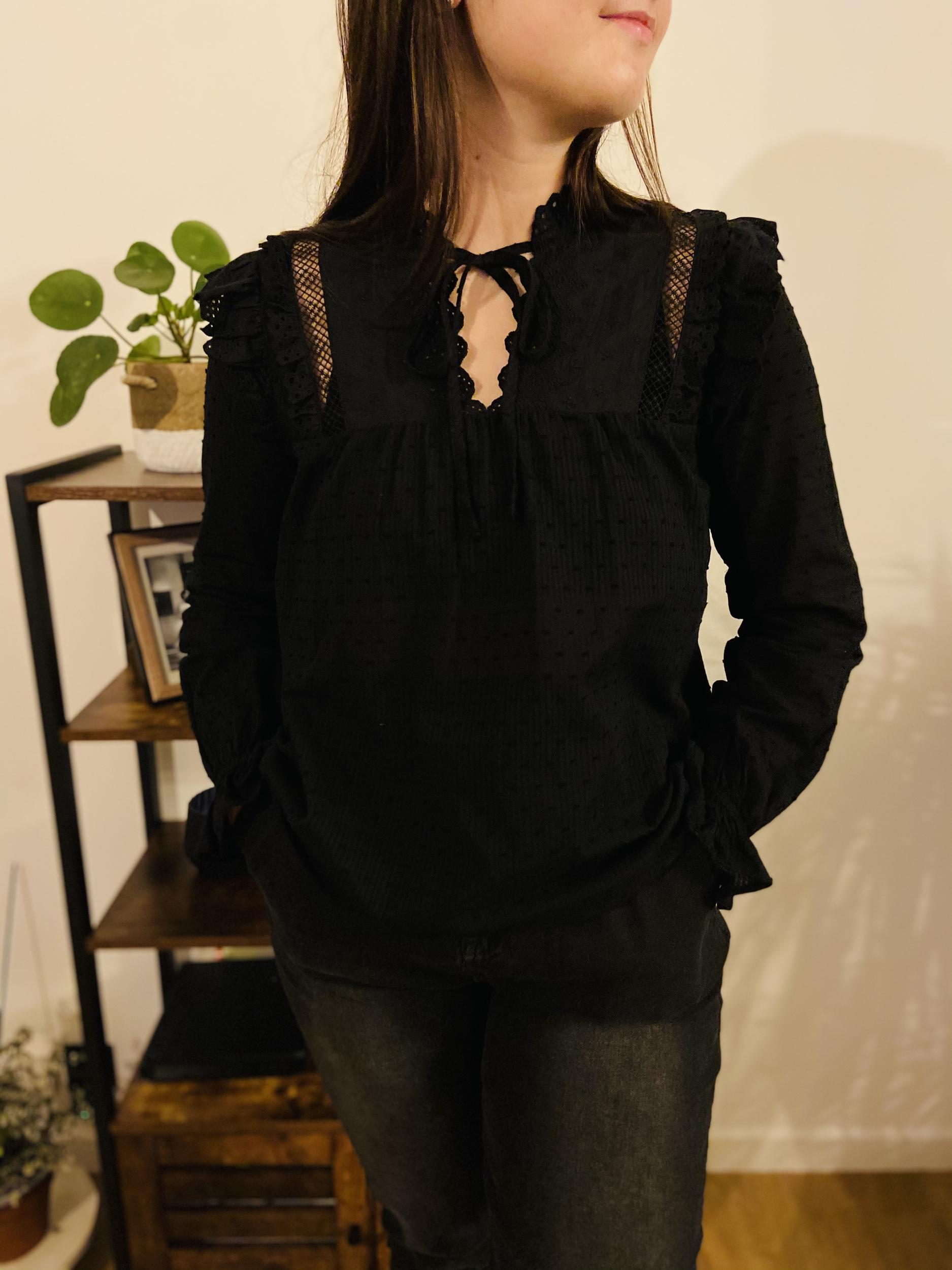 Blouse Callie noire