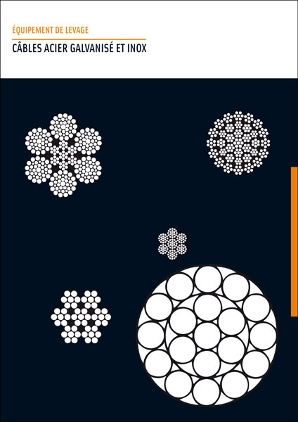Catalogue Câbles acier galvanisé et inox