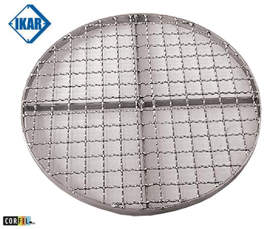Grille d'aération pour regards Ø 660,8 mm