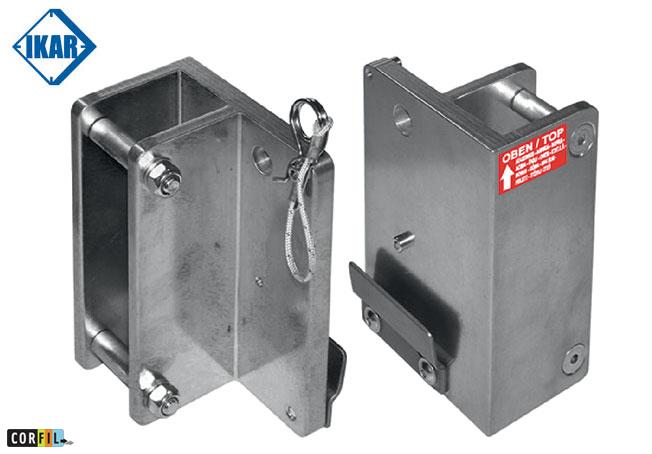 Console de fixation pour treuil