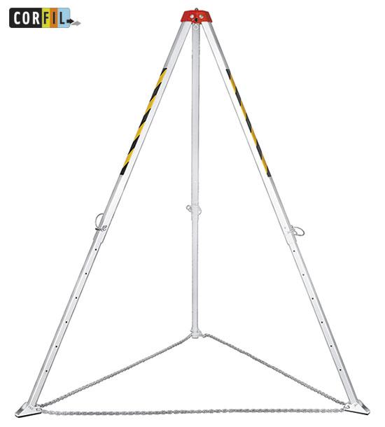 Trepied-telescopique-evacuation-sauvetage-en795b