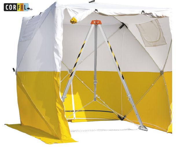 Tente de protection pour trépied