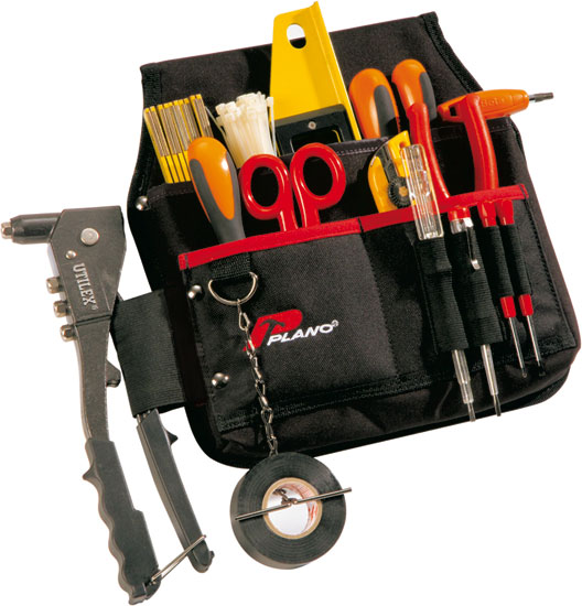 3 poches porte-outils + zip - 535TB