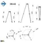 trepied-dimensions-db-a2-ikar