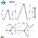 trepied-dimensions-db-a1-ikar