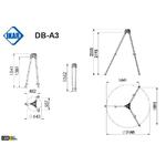 trepied-dimensions-db-a3