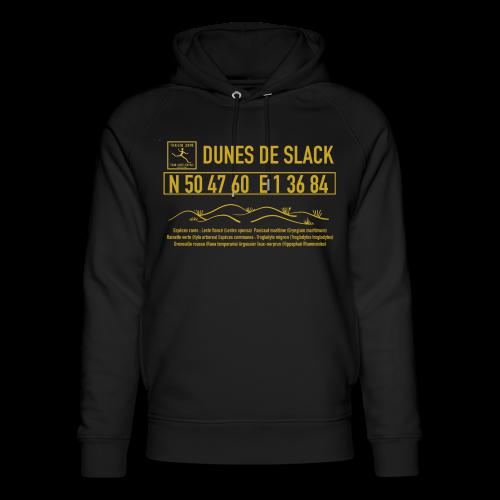 Sweat shirt Noir mixte bio Dunes de Slack