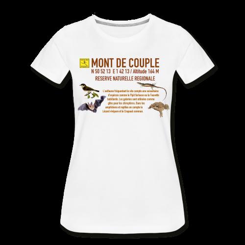 T-shirt bio Premium Femme Mont de Couple Zone Protégée