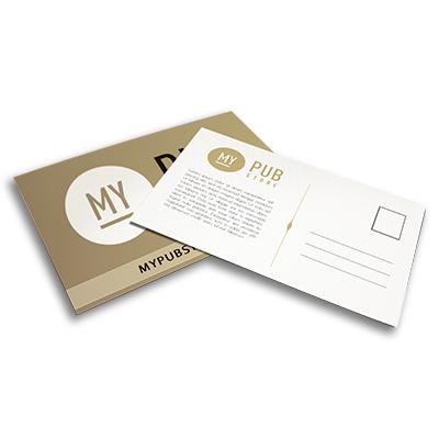 Carte postale - 50 à partir de 20,25 € HT