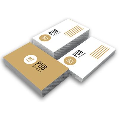 Carte de visite Standard - 50 à partir de 16,20 € HT
