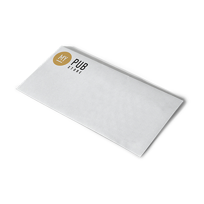 Enveloppe C6 23 x 11 cm sans fenêtre - 25 à partir de 37,80 € HT