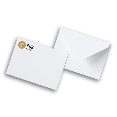 Enveloppe C5 23 x 16 cm sans fenêtre - 25 à partir de 40,50 € HT