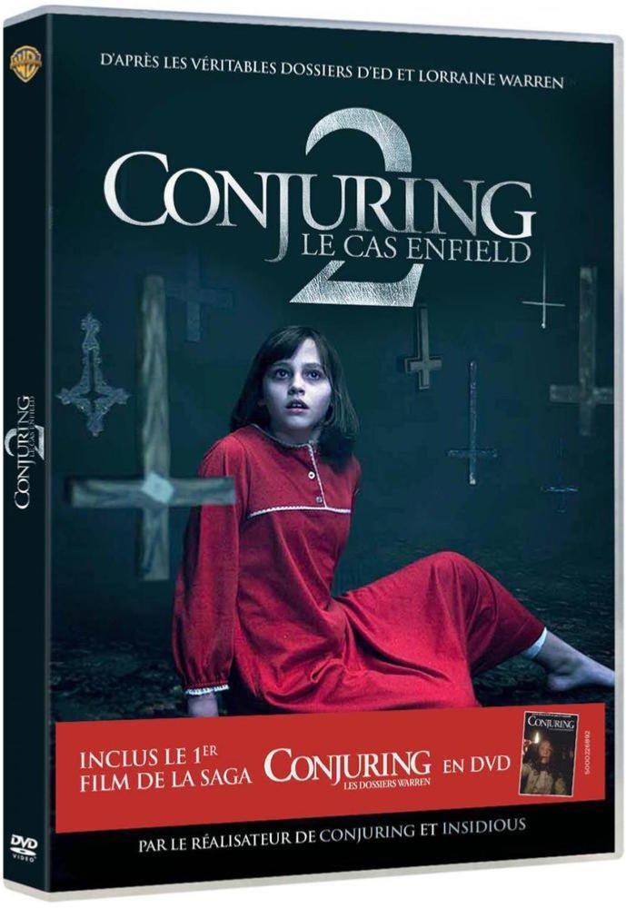 Conjuring 2 : Le cas Einfeld inclus Conjuring 1 [DVD + Copie digitale]