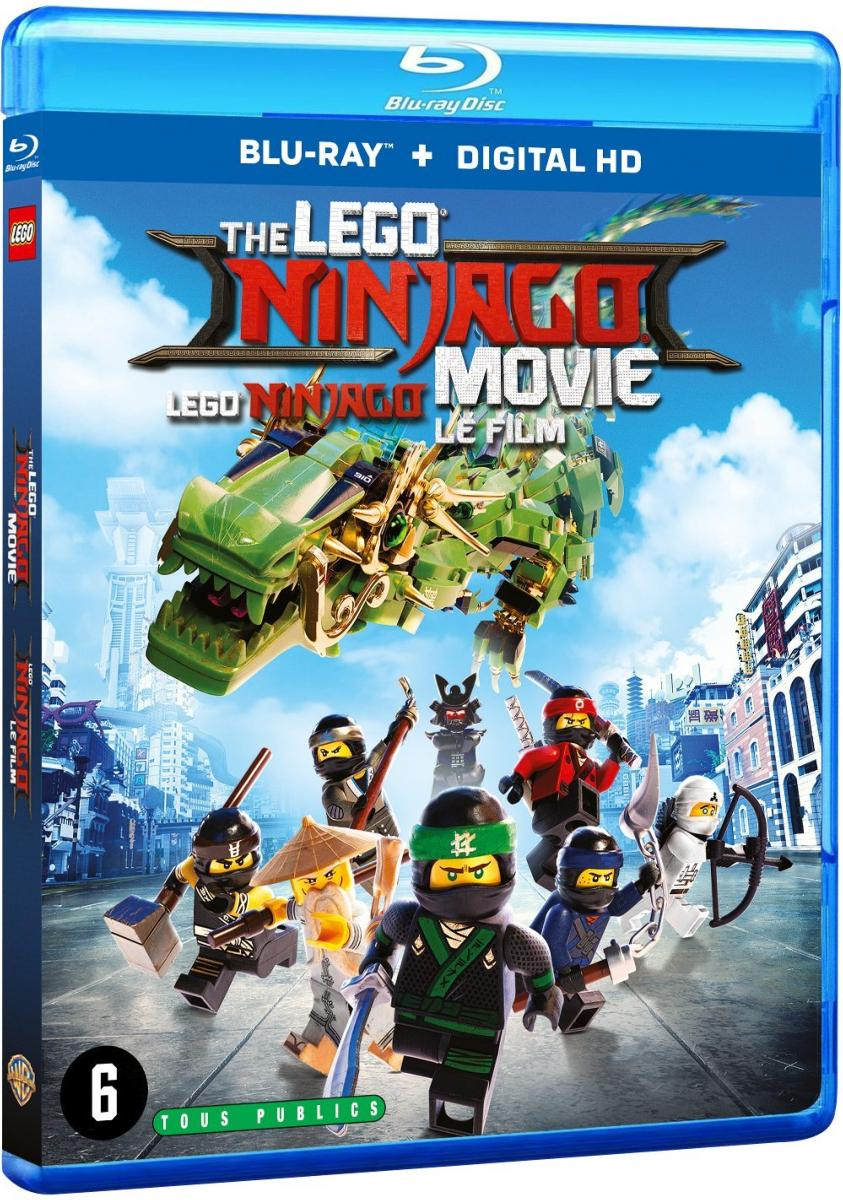 Lego Ninjago Le Film [Blu-ray + Digital HD]