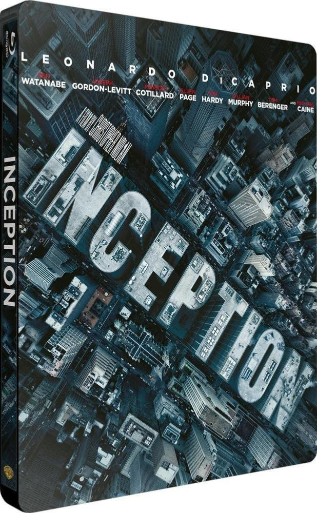 Inception steelbook [Blu-ray - Ultra HD]