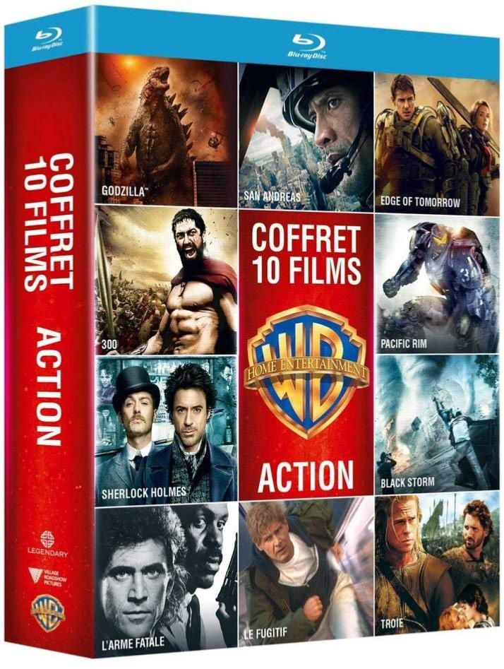 Collection de 10 films action Warner - Coffret (Blu-Ray)