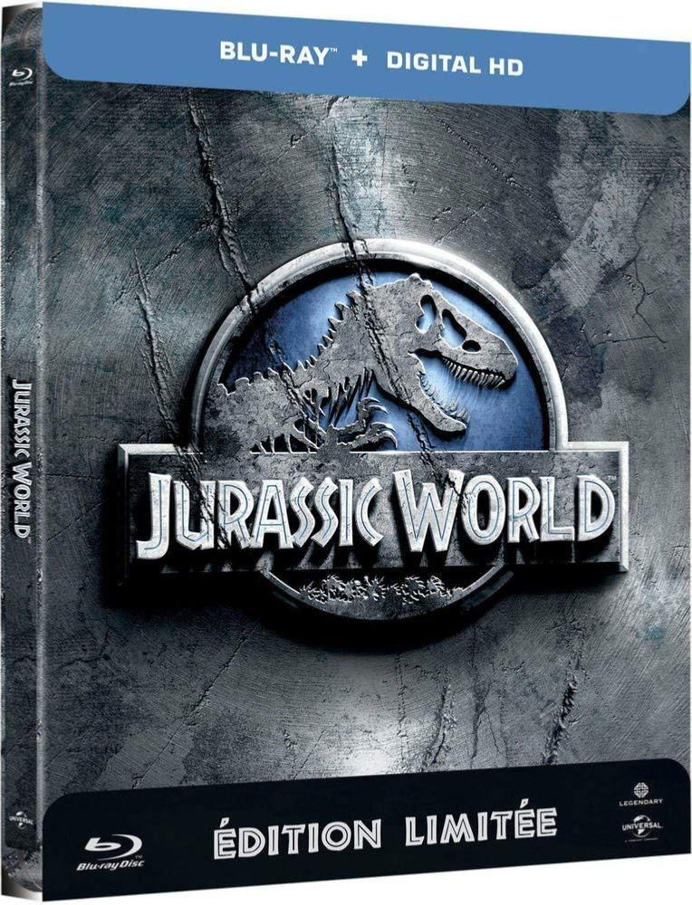 Jurassic World (Edition limitee Steelbook) [Blu-ray + Copie digitale]