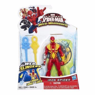 Marvel Ultmate Web-Warriors Iron Spider Web Slingers