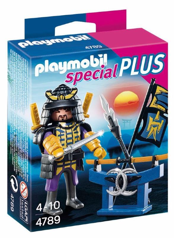 Playmobil - 4789 - Samouraï avec katana et arsenal